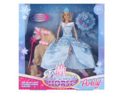 29cm Princess Doll with Horse