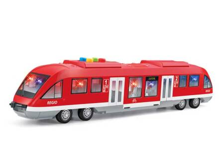 TRAIN 43 CM. WITH LIGHT AND DOOR / OPENED DOORS