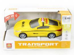 Toy car with light and sound 17 cm.