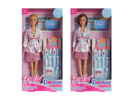 30 CM ANLILY DOCTOR WITH ACCESSORIES, MIX